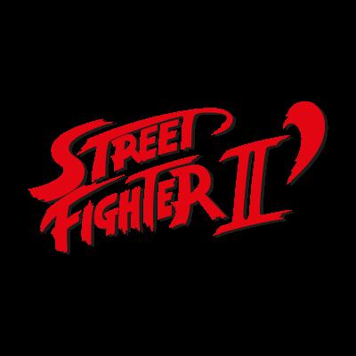 Street Fighter II logo vector logo
