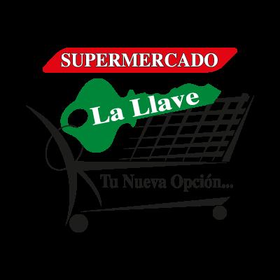 Supermercado La Llave logo vector logo