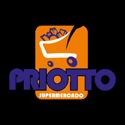 Supermercado priotto logo vector logo
