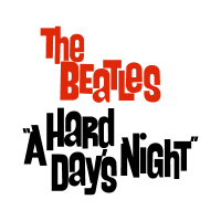The Beatles a hard day's night logo