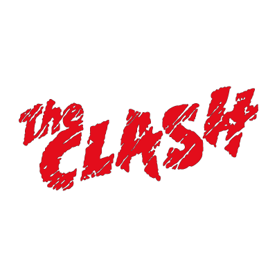 The Clash logo vector logo