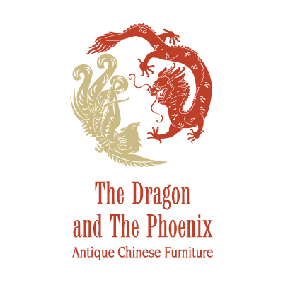 The Dragon and The Phoenix logo vector logo