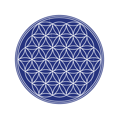 The flower of life logo vector logo