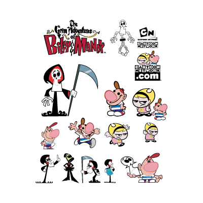 The Grim Adventures Of Billy & Mandy vector logo