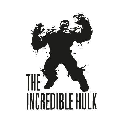 The Incredible Hulk logo vector logo
