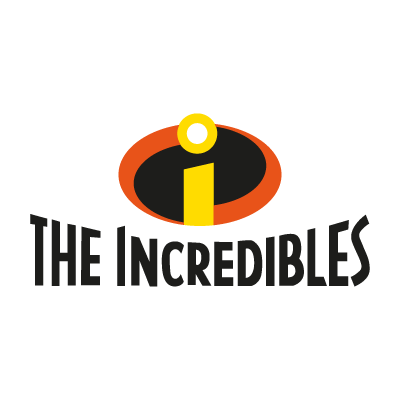 The Incredibles logo vector logo