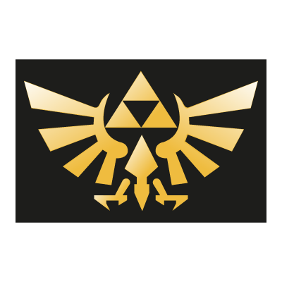 The Legend of Zelda logo vector logo