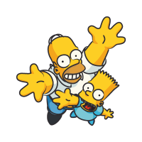 The Simpsons Homer vector