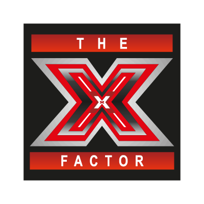 The X Factor logo vector logo