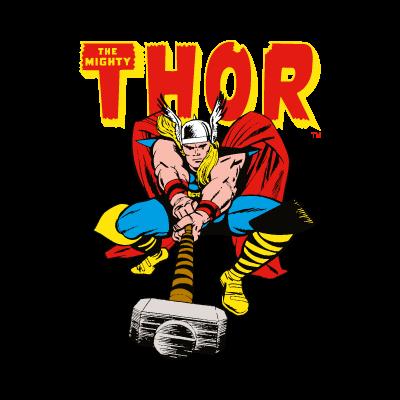 Thor Comics vector logo