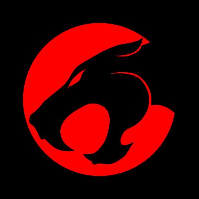 Thundercats emblem logo vector logo