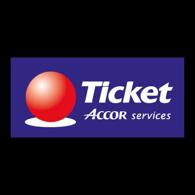 Ticket Accor Service logo vector logo