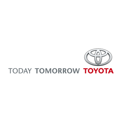 Today Tomorrow Toyota logo vector logo