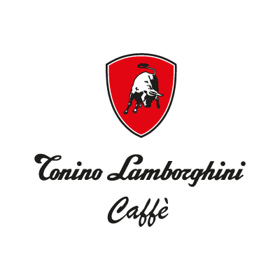 Tonino lamborghini caffe logo vector logo