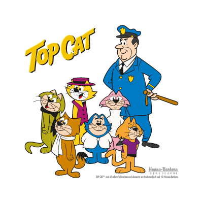 Top Cat vector logo