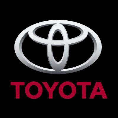 Toyota auto logo vector logo