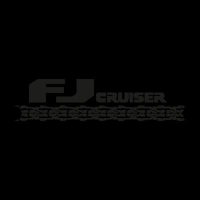 Toyota FJ Cruiser logo vector logo