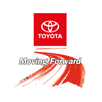 Toyota Moving Foward logo vector logo