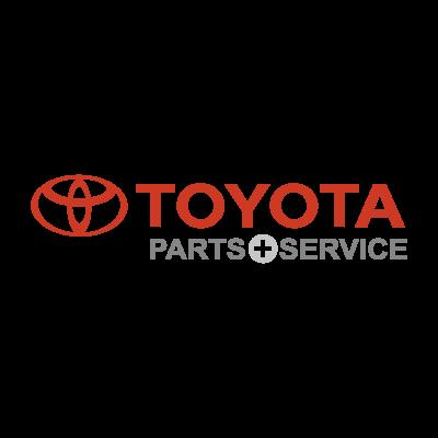 Toyota Parts & Service logo vector logo