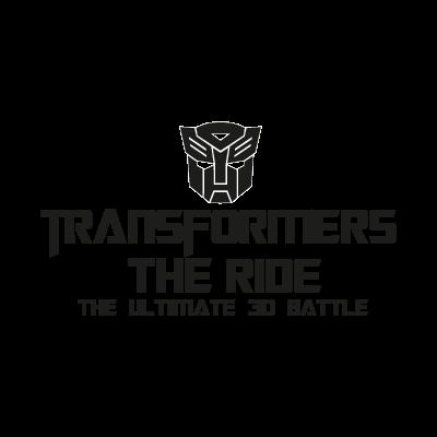 Transformers The Ride vector logo