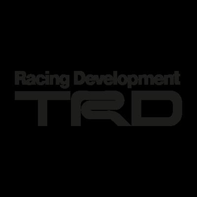 TRD black logo vector logo