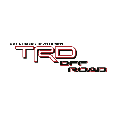 TRD Off Road logo vector logo