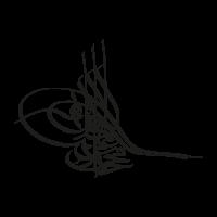 Tugra black vector