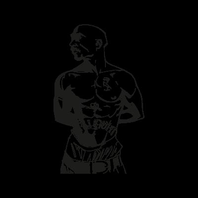 Tupac Shakur vector logo