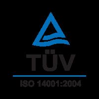 TUV ISO 14001:2004 logo