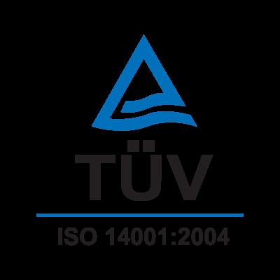 TUV ISO 14001:2004 logo vector logo