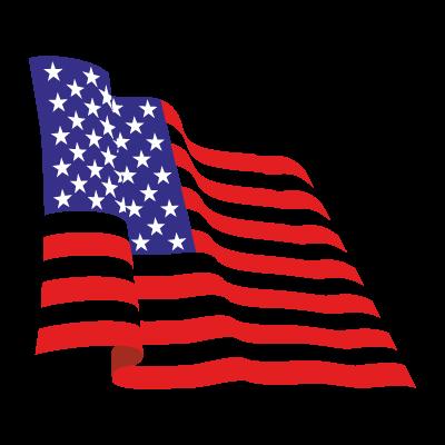 Flag of USA vector logo