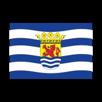 Flag of Zeeland vector