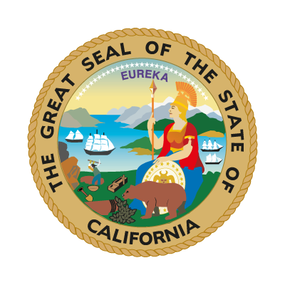 Seal of California logo vector logo