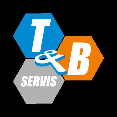 T & B logo vector logo