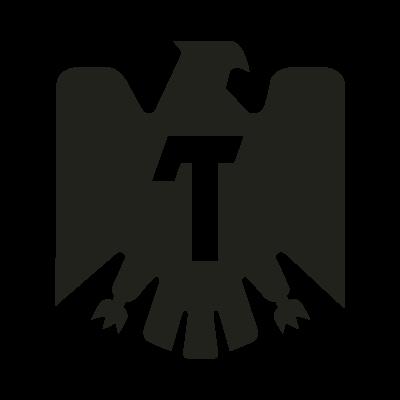 Tecate black logo vector logo