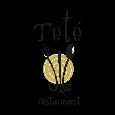 Tete Restaurant logo vector logo