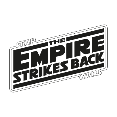 The Empire Strikes Back logo vector logo