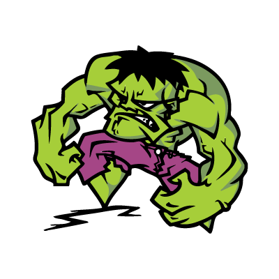The Hulk vector logo