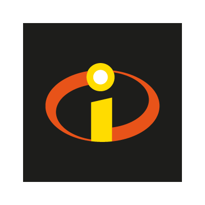 The Incredibles (movies) logo vector logo