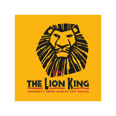 The Lion King logo vector logo