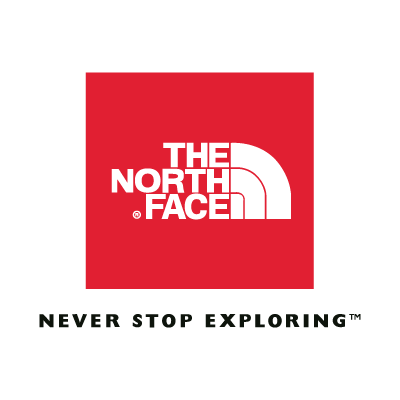 The North Face (Red) logo vector logo