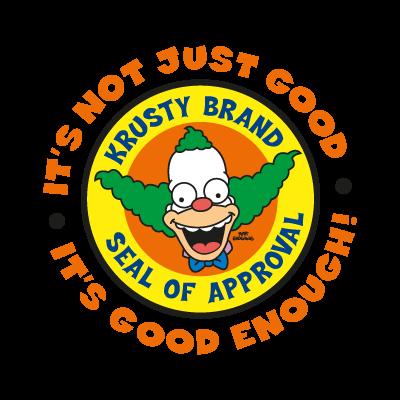 The Simpsons (Krusty Brand) logo vector logo