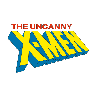 The Uncanny X-Men logo vector logo