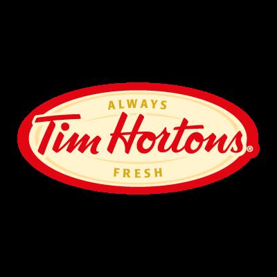 Tim hortons logo vector logo