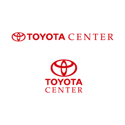 Toyota Center logo vector logo