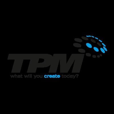 TPM logo vector logo