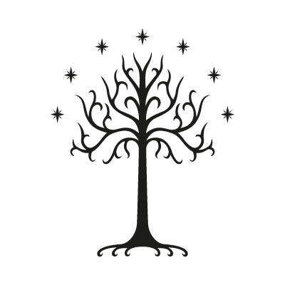 Tree of Gondor logo vector logo