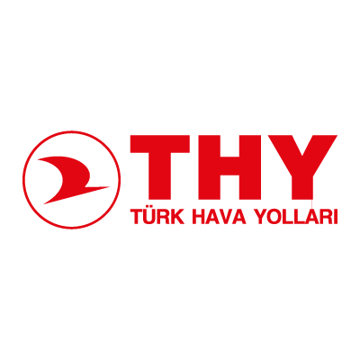 Turkish Airlines (THY) logo vector logo
