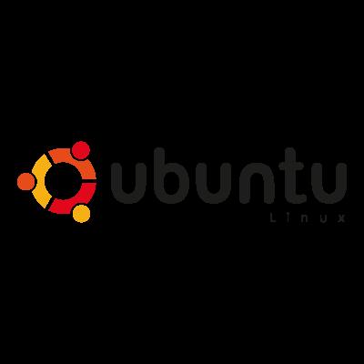 Ubuntu Linux L logo vector logo