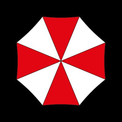 Umbrella Corporation logo vector logo